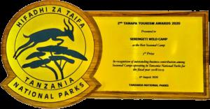 TANAPA TOURISM AWARDS 1